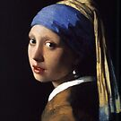 Girl With A Pearl Earring by rapplatt