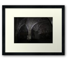 The warming room Framed Print