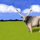 Puszta Bull by SophiaDeLuna