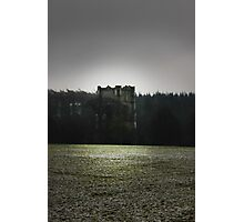 Castle on a hill Photographic Print