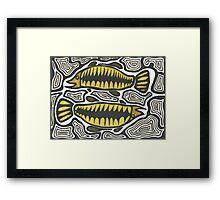 Goodoo (Fish) Framed Print