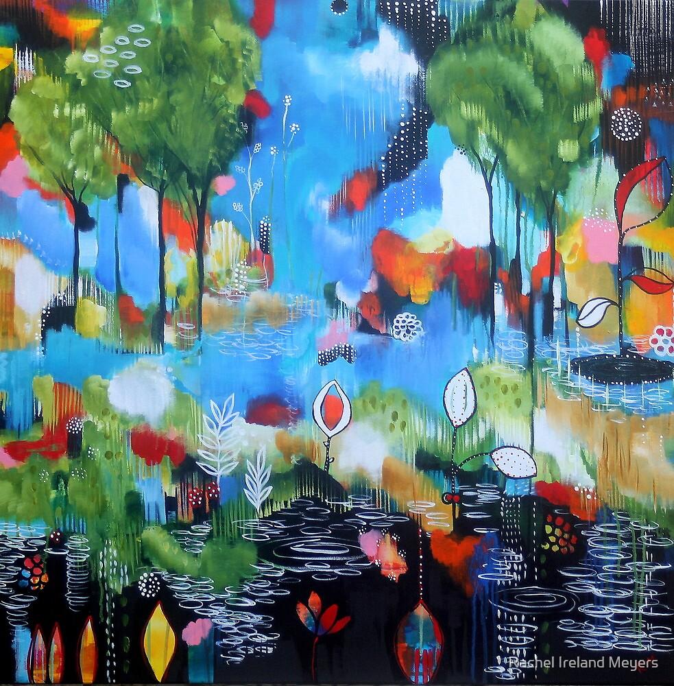 Stain Glassed Landscape II by Rachel Ireland-Meyers