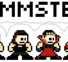 Rammstein 8-bit Sticker