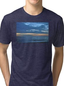 Blue Sea Tri-blend T-Shirt