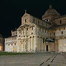 Nightshot of Piazza dei Miracoli in Pisa by kirilart