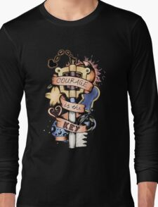 Courage Is The Key Long Sleeve T-Shirt