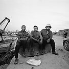 Gaza Fishermen by Ahmad Sabra