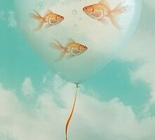 Balloon Fish 03 by Vin  Zzep