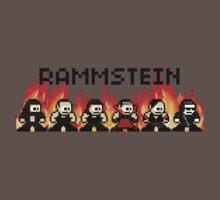 Rammstein 8-bit Flame by nite