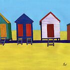 Beach Huts by BAVVY