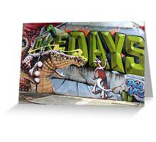 Street Art: global edition # 59 Greeting Card