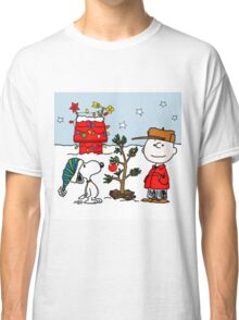 SNOOPY CHARLIE BROWN CHRISTMAS Classic T-Shirt