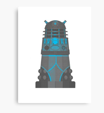 Dalek in Underpants version 2 Canvas Print