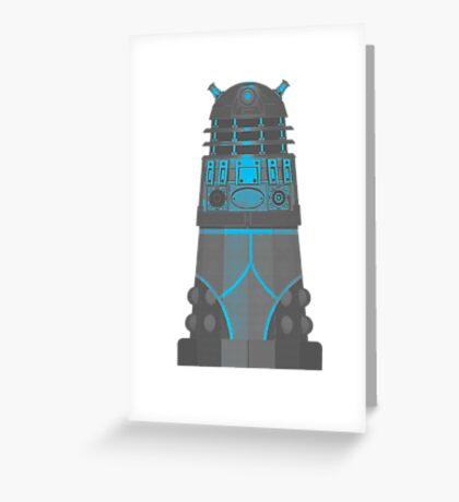 Dalek in Underpants version 2 Greeting Card