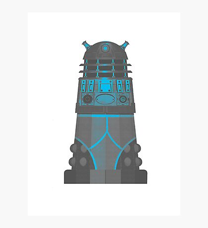 Dalek in Underpants version 2 Photographic Print