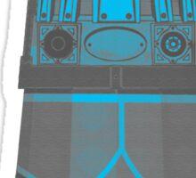 Dalek in Underpants version 2 Sticker