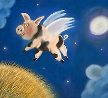 Pigs might fly by Caroline  Peacock