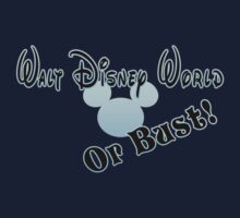 Walt Disney World or bust! - Blue by Margybear