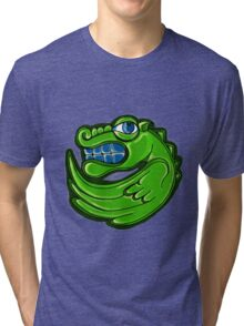 Green dragon Tri-blend T-Shirt