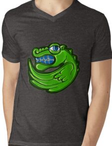 Green dragon Mens V-Neck T-Shirt