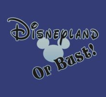 Disneyland or Bust! - Blue by Margybear