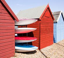 Beach Huts - Herne Bay by Hay Alexander Photography