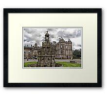 holyrood palace Framed Print