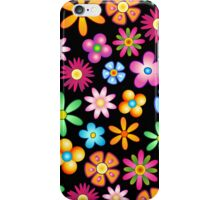Spring Flowers Colorful Naif Design iPhone Case/Skin