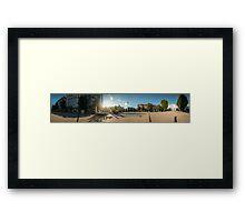 Wilhelmsplatz HD Panorama Framed Print