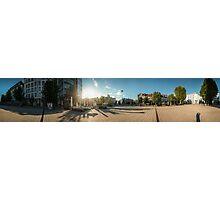 Wilhelmsplatz HD Panorama Photographic Print