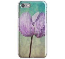 Purple Anemone Flora.. iPhone Case/Skin