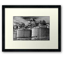 Tanks Framed Print