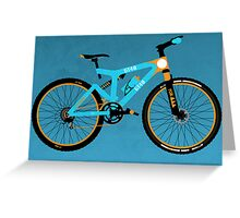 Mountain Bike Greeting Card
