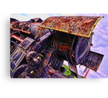 Abandoned giant Canvas Print