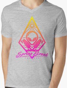 Spring Break Forever Mens V-Neck T-Shirt