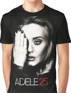 ADEL 25 ALBUMS Graphic T-Shirt