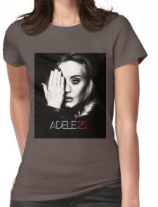 ADEL 25 ALBUMS Womens Fitted T-Shirt