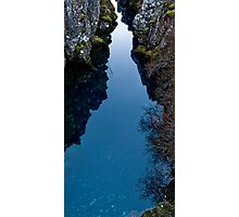 Iceland pure water pool Photographic Print