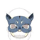 Cat Mask Poster by jxwcrowley