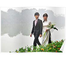 A wedding in Hanoi Poster