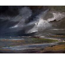 Storm over Norfolk coast Photographic Print
