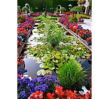 Butchart Gardens/Canada Photographic Print