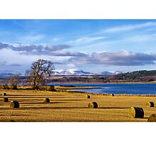 The Beauly Firth and Ben Wyvis Photographic Print