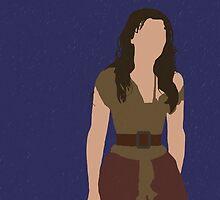 Eponine - Samantha Barks - Les Miserables minimalist design by Hrern1313