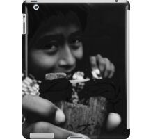 Kid with Slingshot iPad Case/Skin