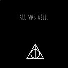 Last Words - Deathly Hallows by smallinfinities