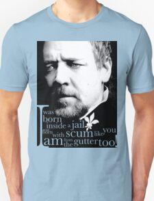 Javert from the gutter (v2) Unisex T-Shirt