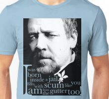 Javert from the gutter (v2) Unisex T-Shirt