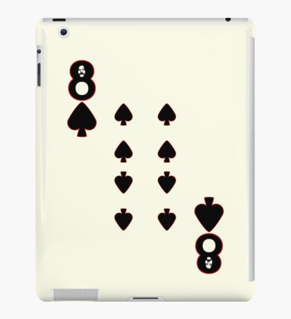 The Eight of Spades iPad Case/Skin