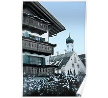 Winter Wonderland - Oberammergau, Bavaria, Germany Poster